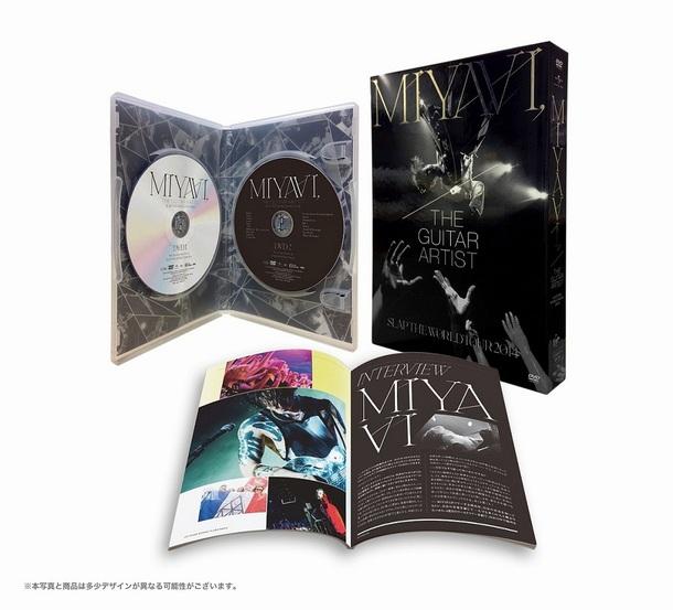 DVD 『MIYAVI, THE GUITAR ARTIST –SLAP THE WORLD TOUR 2014-』展開図