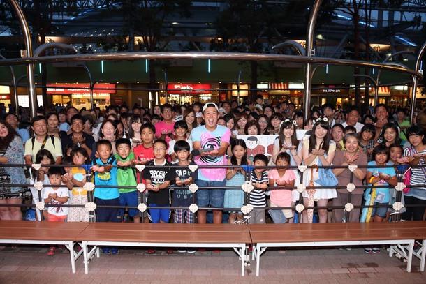8月8日@東京ドームシティ・ラクーアガーデンステージ