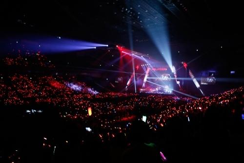 """約25,000人が集結した""""EXIT TUNES ACADEMY FINAL SPECIAL 2014""""ETAステージの模様"""