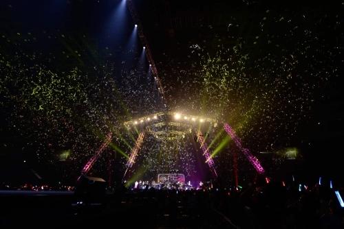 """EXIT TUNES ACADEMY FINAL SPECIAL 2014""ETAステージの模様"