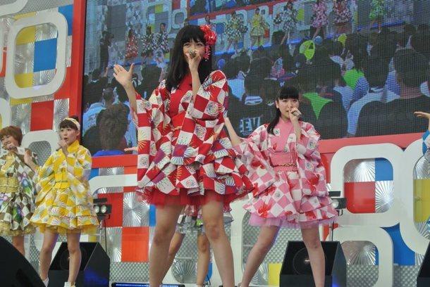 【SUPER☆GiRLS】 8月1日@お台場新大陸・新大陸ステージ