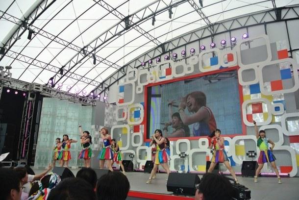 【Cheeky Parade】8月1日@お台場新大陸・新大陸ステージ