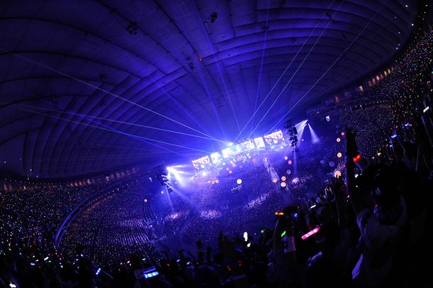 7月31日@東京・東京ドーム