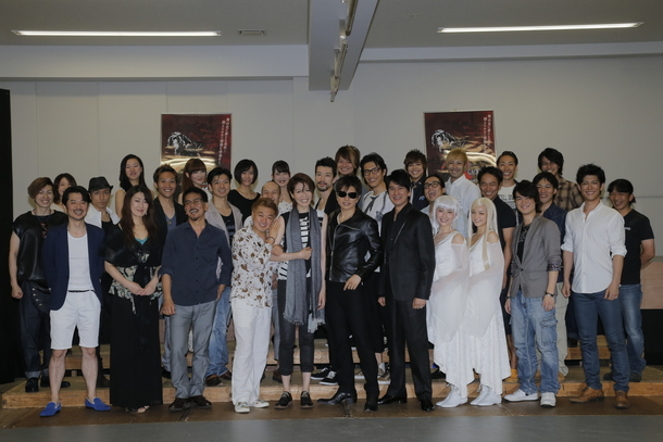 舞台「MOON SAGA -義経秘伝-」公開舞台稽古&ヒロイン「陽和」役をお披露目