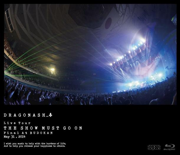 Blu-ray 『Live Tour THE SHOW MUST GO ON  Final At BUDOKAN  May 31, 2014』