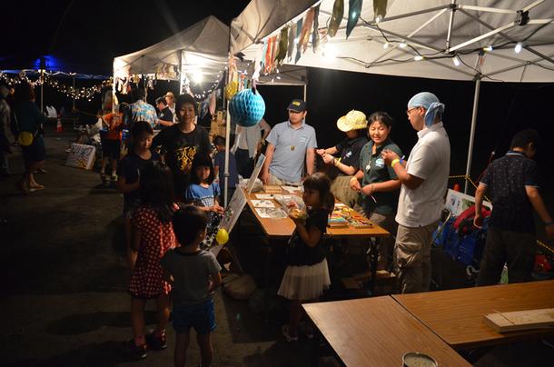 7月21日(月) @野外音楽フェス「OTODAMA FOREST STUDIO」野外上映会