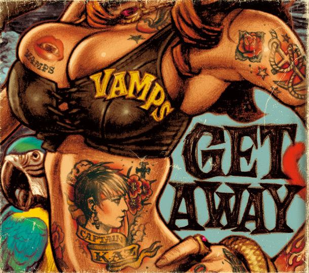 シングル「GET AWAY / THE JOLLY ROGER」【初回限定盤A】
