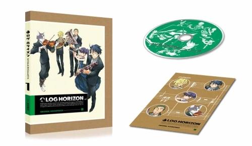 『「ログ・ホライズン」オリジナル・サウンドトラック』商品展開図 (C)2014 NHK