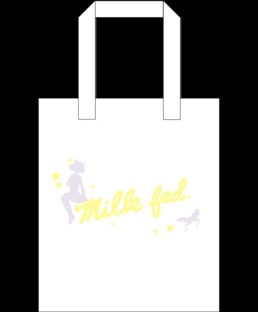 milkfed.×みみめめMIMI×KKBOX コラボレーション商品 TOTE BAG