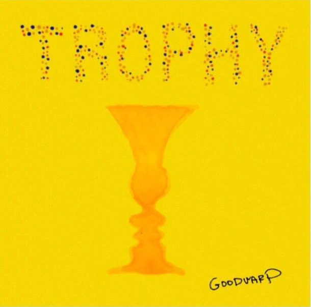 会場限定3曲入りCD「TROPHY」