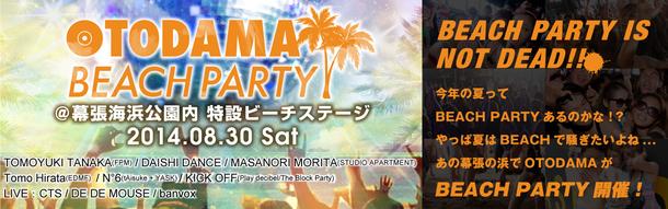 『OTODAMA BEACH PARTY 2014』