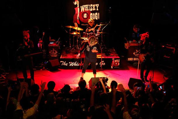 7月10日(日本時間 7月11日)@ロサンゼルス・Whisky a Go Go
