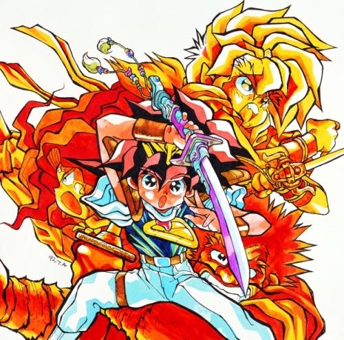 TVアニメ「魔神英雄伝ワタル」の25周年を記念したCD-BOXがリリースに (C)サンライズ・R