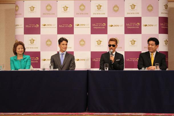 7月3日、品川プリンスホテルでの「第9回 クリスマス キャロル コンサート」記者会見
