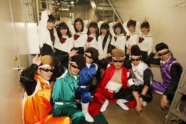 6月26日(木)@Zepp Tokyo【氣志團×私立恵比寿中学】