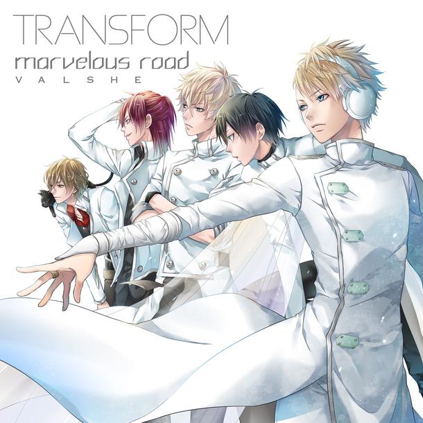 シングル「TRANSFORM / marvelous road」 【初回限定盤B WRITERZ盤】