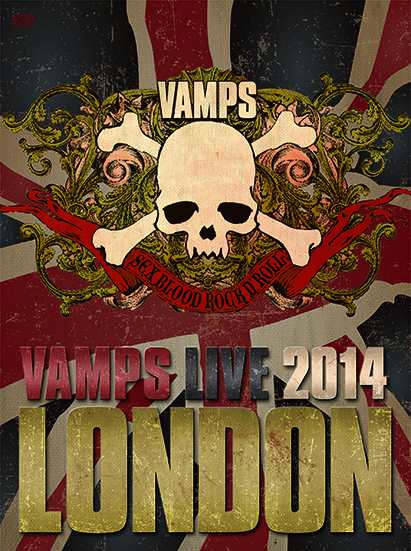 DVD / Blu-ray『VAMPS LIVE 2014: LONDON』 【通常盤A】