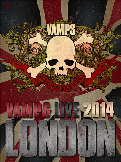 DVD / Blu-ray『VAMPS LIVE 2014: LONDON』 【通常盤B】