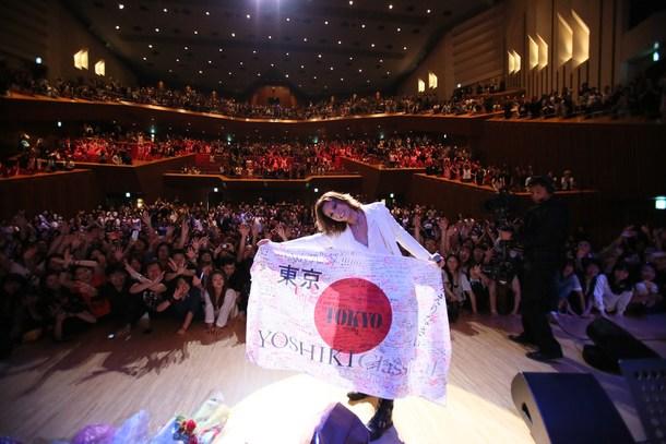 YOSHIKI、ワールドツアー東京公演