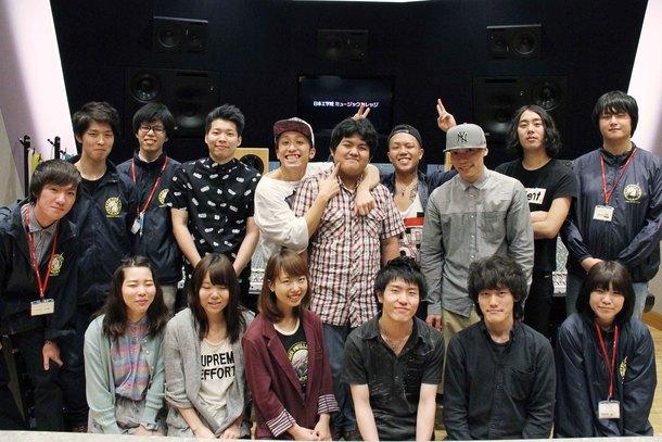 BACK-ON&日本工学院生徒