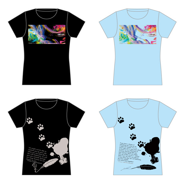 LOST ASH 自由視点動画付「ルッキュTシャツ」