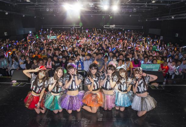 paletが結成2周年を記念したワンマンライブを6月8日、新宿  BLAZEで開催