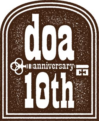 doa 10周年ロゴ