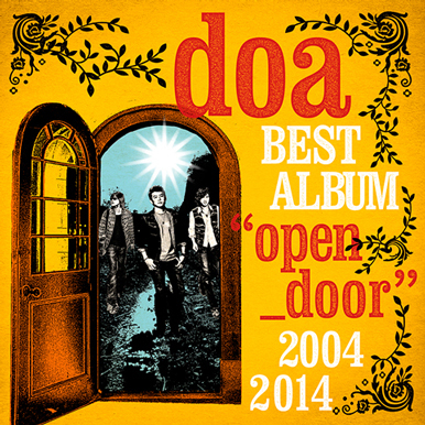 "アルバム『doa BEST ALBUM ""open_door"" 2004-2014』 【通常盤】"