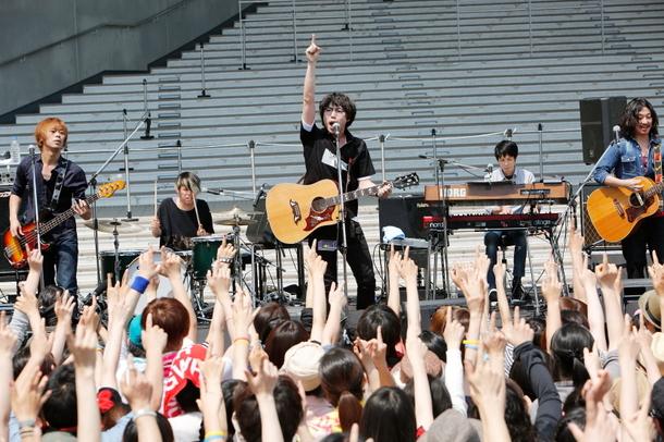5月31日@ダイバーシティ東京プラザフェスティバル広場