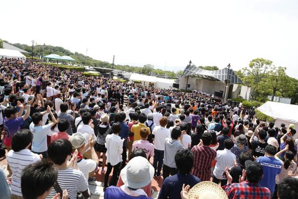 5月24日(土)@京都府立山城総合運動公園(太陽が丘)