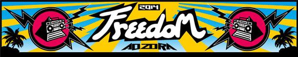野外音楽フェスティバル「FREEDOM aozora 2014」