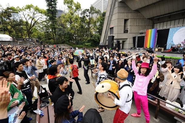 【BLACK BOTTOM BRASS BAND】4月19日@「TOKYO春告ジャンボリー2014」
