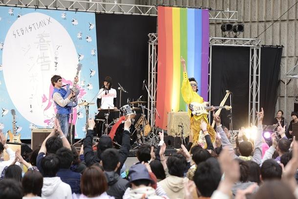 【N'夙川 BOYS】4月19日@「TOKYO春告ジャンボリー2014」