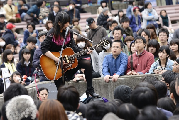【大森靖子】4月19日@「TOKYO春告ジャンボリー2014」