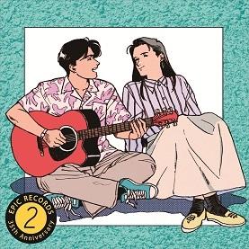 EPICレコード35周年記念コンピ第二弾『青春の90'sベストヒッツ35曲!~Epic35~』