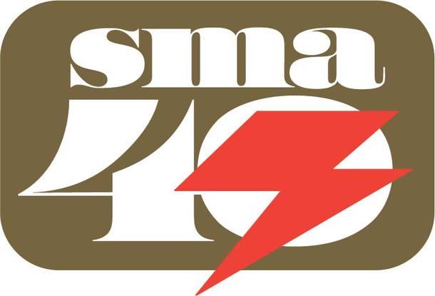 SMA40周年ロゴ