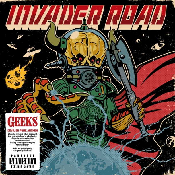 会場限定シングル「INVADER ROAD」