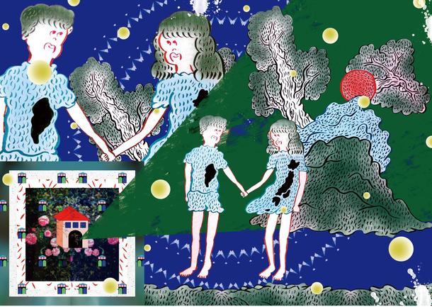アルバム『うちゅうにむちゅう』にちなんだ8種の「太陽系惑星」描き降ろしグラフィック