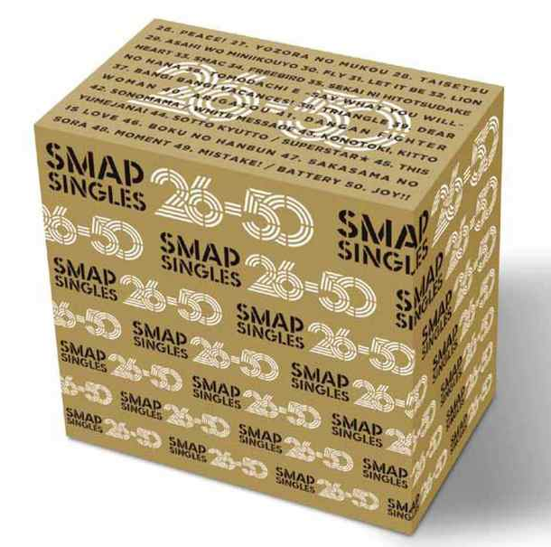 SMAP 50 SINGLES 26-50」