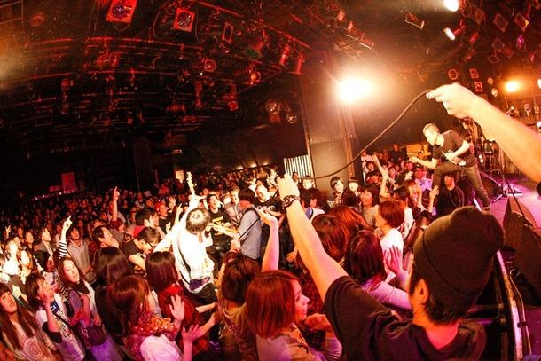 2月14日(金)@渋谷クラブクアトロ photo by 山川哲也