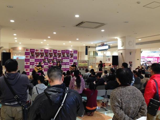 1月26日(日)@イオン佐賀大和2F特設ステージ