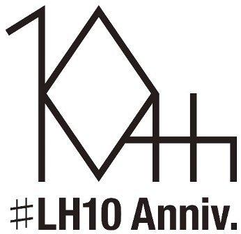 LUNKHEAD 10周年記念ロゴ