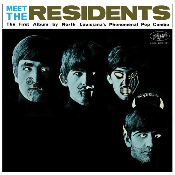 『Meet the Residents』('74)/THE RESIDENTS
