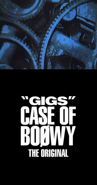 "ライヴ音源『""GIGS"" CASE OF BOØWY -THE ORIGINAL-』"