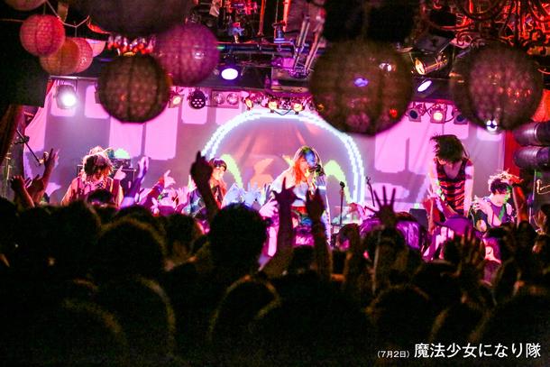 【魔法少女になり隊】 『魔法少女になりな祭』 2017年7月1日、2日 at 渋谷STAR LOUNGE