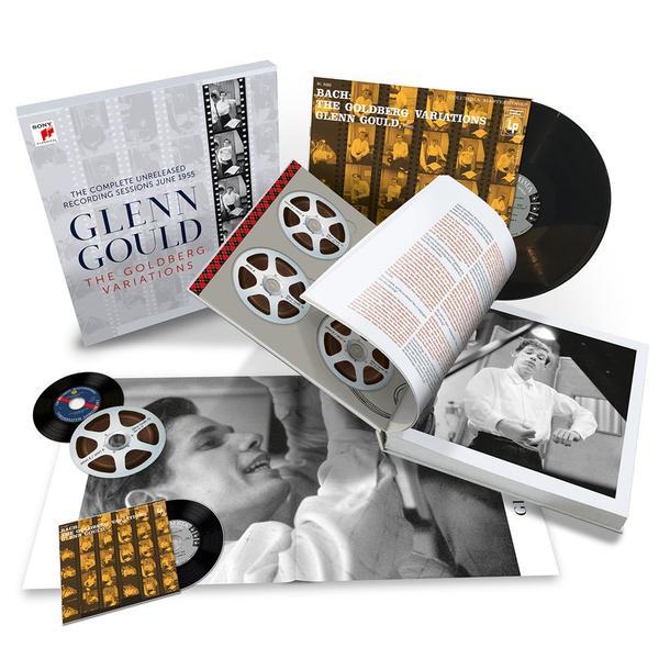 アルバム『グレン・グールド/ゴールドベルク変奏曲 コンプリート・レコーディング・セッションズ1955』(パッケージ写真)