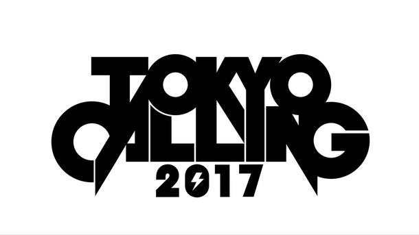 『TOKYO CALLING 2017』ロゴ
