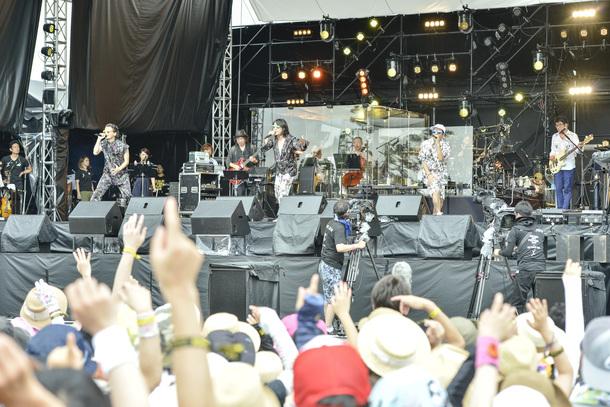 7月28日KICKTHECANCREW/photo by 橋本塁(SOUND SHOOTER)