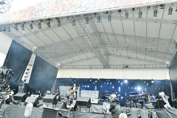7月28日桜井和寿/photo by 橋本塁(SOUND SHOOTER)