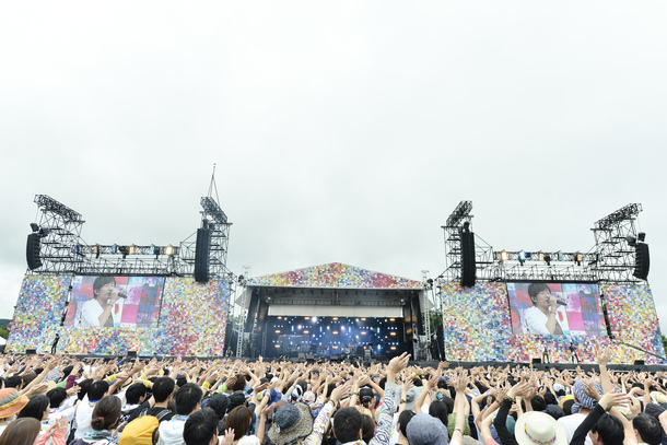 7月29日Mr.Children/photo by 橋本塁(SOUND SHOOTER)7月29日